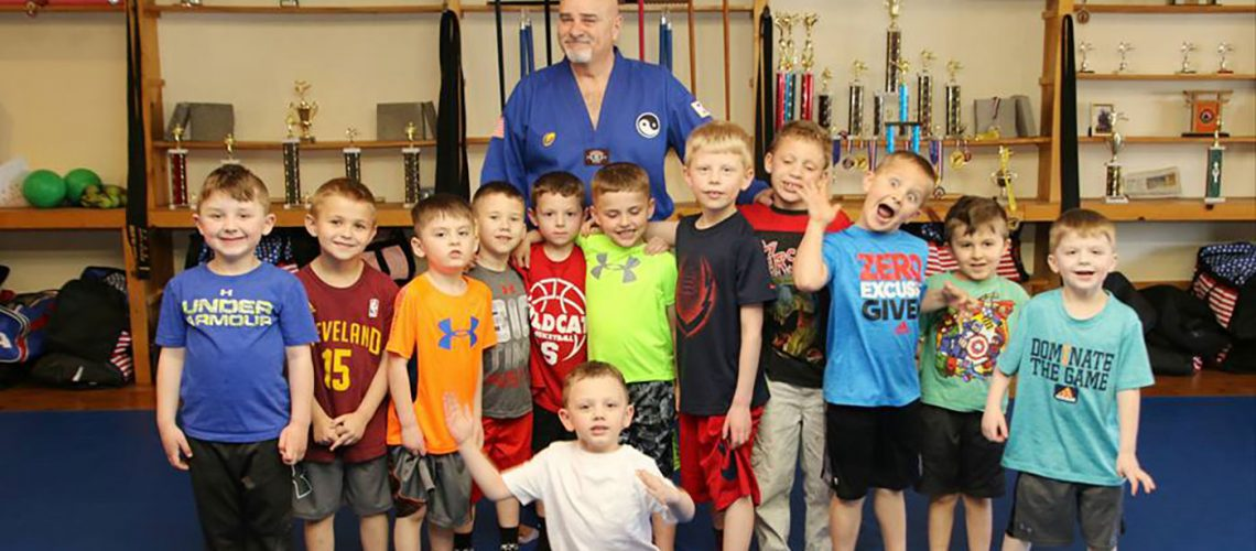 martial arts birthday party kids poland ohio