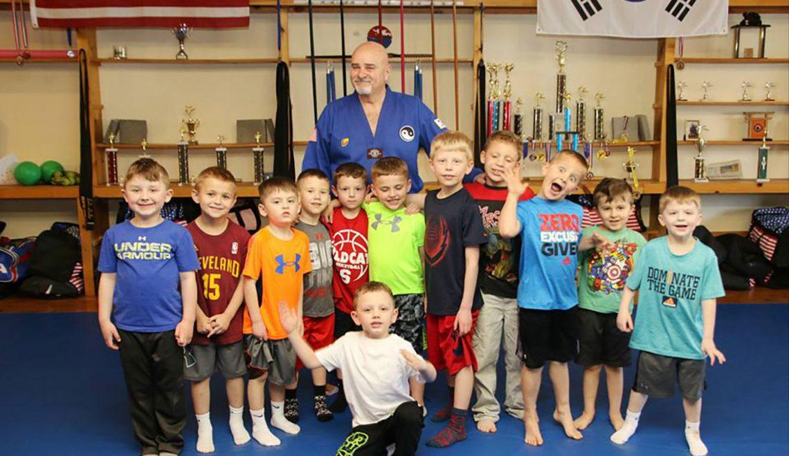 martial arts birthday party kids poland ohio