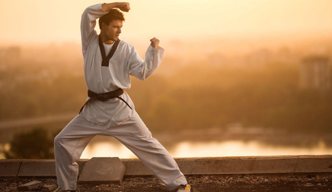 martial arts blackbelt