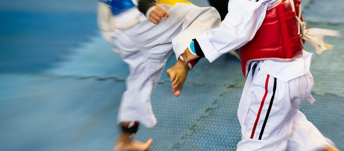 taekwondo-kids-kicking-punching-grading