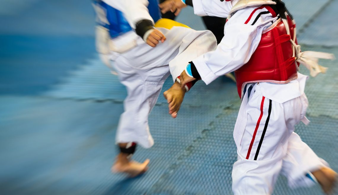 taekwondo-kids-kicking-punching-grading