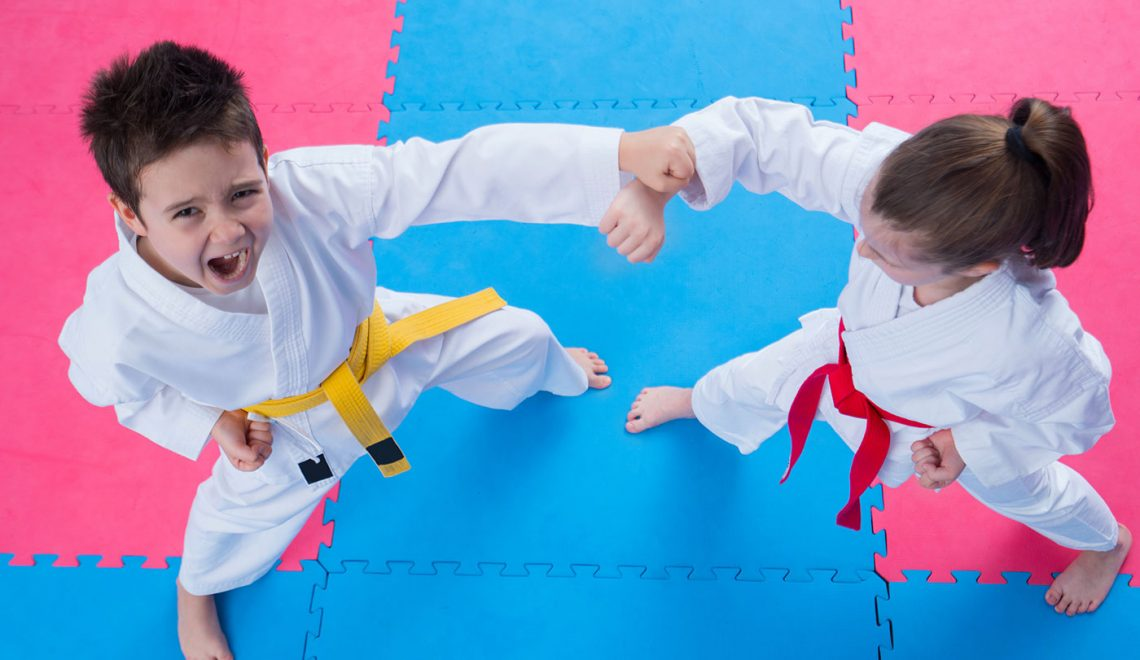 taekwondo kids self defense